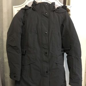 The North Face Grey Goose Down coat $125